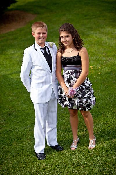 Taylor's 8th Grad Prom