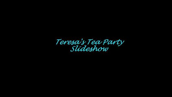 Tea Party Fundraiser for Teresa Miller