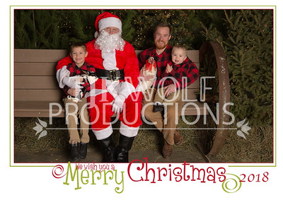 5x7 We Wish you a Merry Xmas