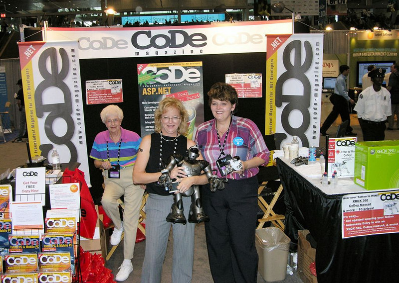 CoDe Magazine booth at Tech-Ed 2006