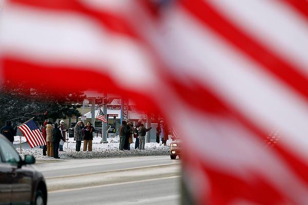 Tech Sgt. Matthew Schwartz funeral, Jan.14, 2012