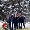 Record-Eagle/Jan-Michael Stump<br /> United States Air Force firing party members perform a three-volley rifle salute at the funeral of Tech Sgt. Matthew Schwartz Saturday at Memorial Gardens in Traverse City, following funeral services at Christ the King Catholic Church in Acme. Schwartz, 34, of Traverse City died in Afghanistan January 5, 2012, when his vehicle was struck by a improvised explosive device.