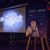 Chris Harren speaks to the YPO, November 8, 2015 at the Hard Rock Cafe in Boston.