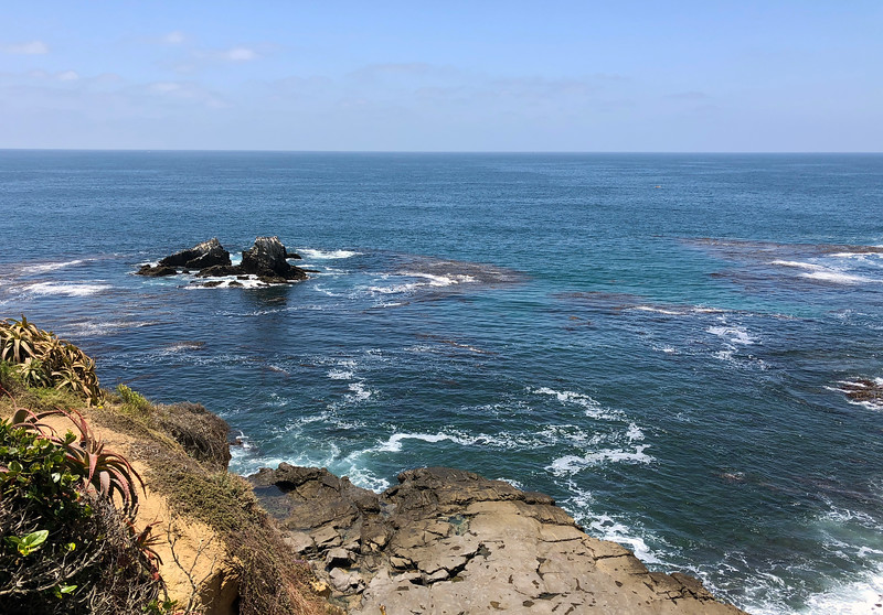 Sue's 4th memorial anniversary.<br /> Seal Rock, Crescent Bay, Laguna Beach<br /> June 19, 2018