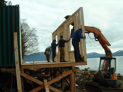 Tenakee Cabin build
