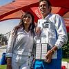 CS Cologny tennis gentlemen's team captain and wife