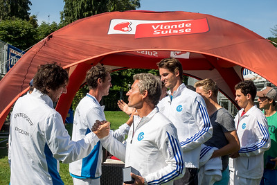 Grasshopper Club Zürich gentlemen's team greeting CS Cologny