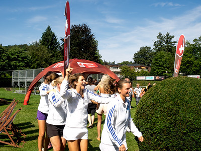 Grasshopper Club Zürich ladies celebration