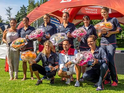 Tennis Club Mail Neuchâtel ladies' team photo