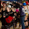 April 14, 2018 Terrorz Roller Derby Intraleague Bout-Heroes vs Villains. Photo by Tony Vasquez