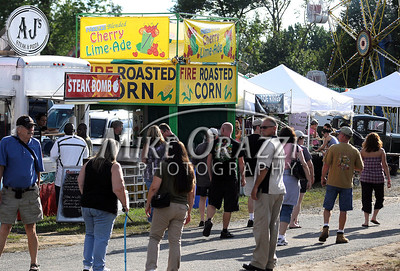 8/26/2011 Mike Orazzi | Staff Opening day at the Terryville Fair on Friday evening.