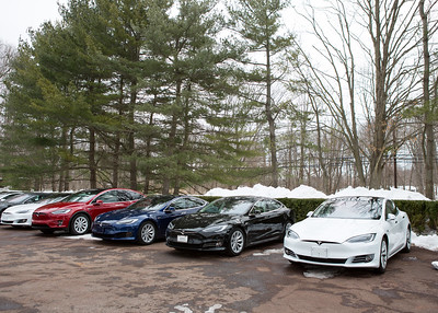 Tesla Ruinart experience at Brant Foundation Museum