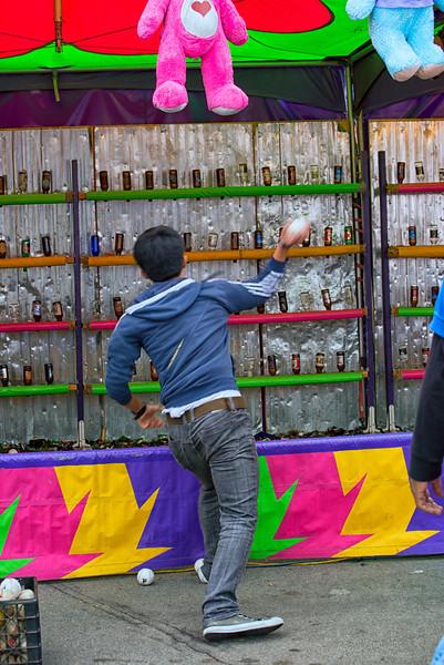 Busting Beer Bottles