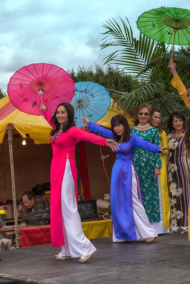Ao Dai Umbrellas