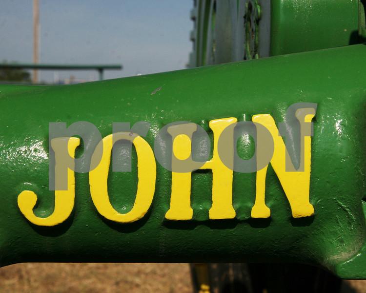 John Deere Foundry Marks on axle.