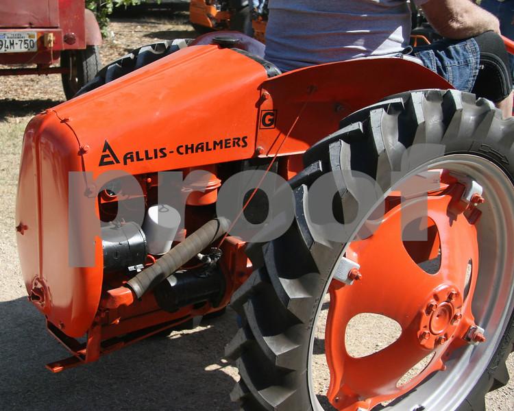 Allis Chalmers garden tractor.