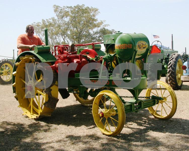 Waterloo Boy Tractor.