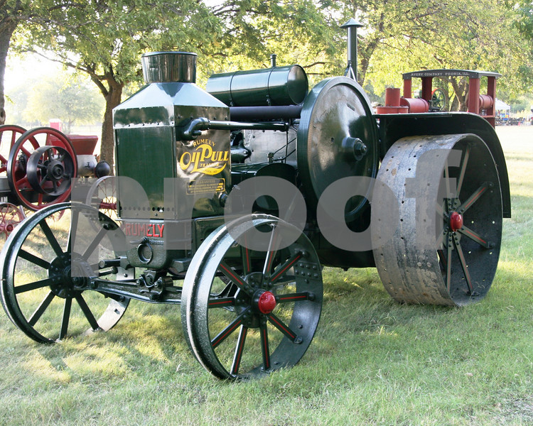 Oil Pull Tractor