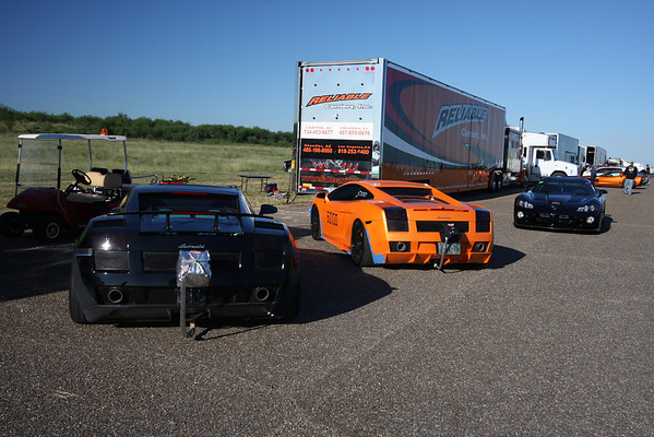 Texas Mile 2009: Cars