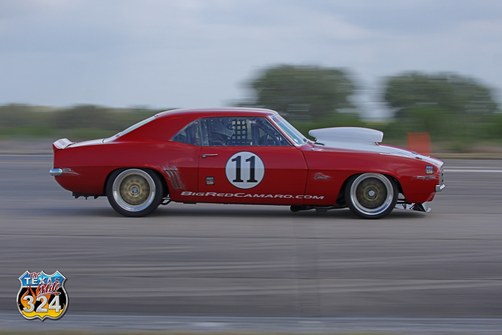 While Mile has seen it's fair share of celebrities, Big Red is probably the..er, biggest.  This is the car that started the pro-touring revolution.  For more info, their website's on the door!<br /> April 2011<br /> (from the March 2011 event)