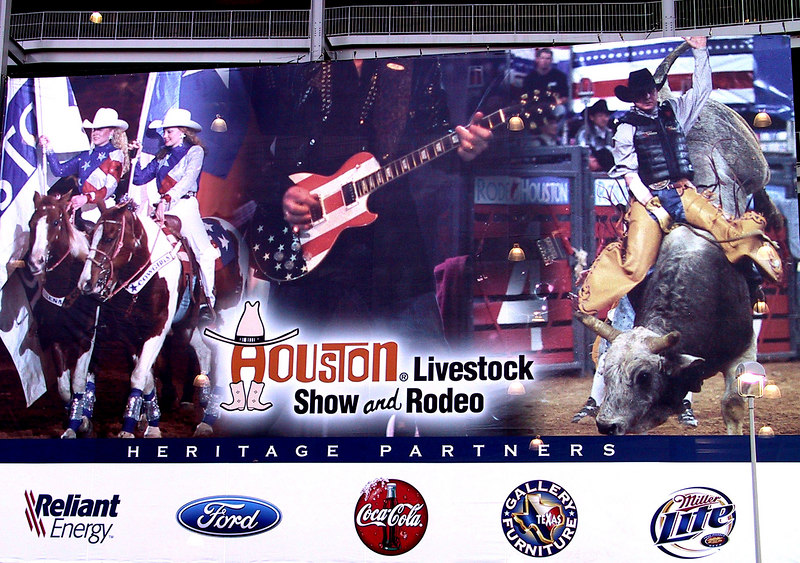 Rodeo at the Reliant Stadium