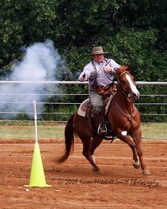 WM Lavender Shirt Cowboy