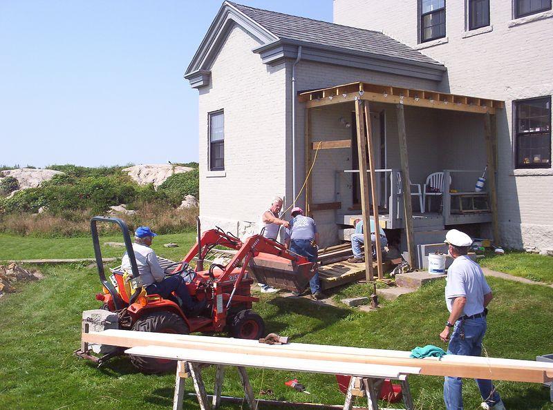 Workcrew Wednesday on the Island.