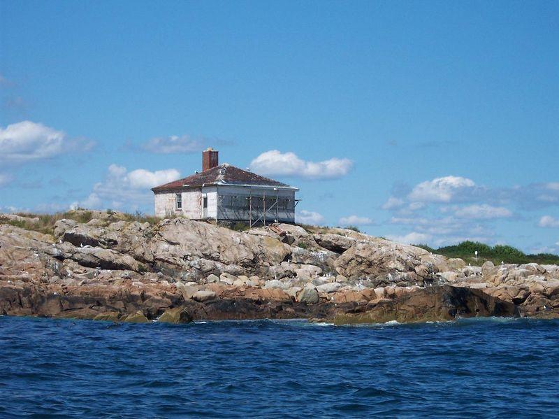 Whistle House ocean side.