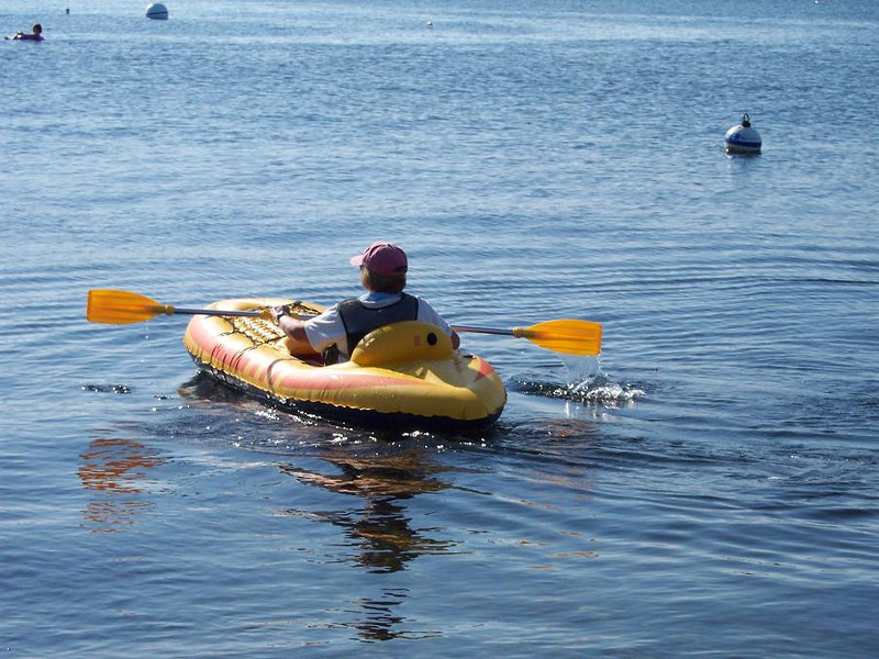Keeper 2 kayaking away, will she return?