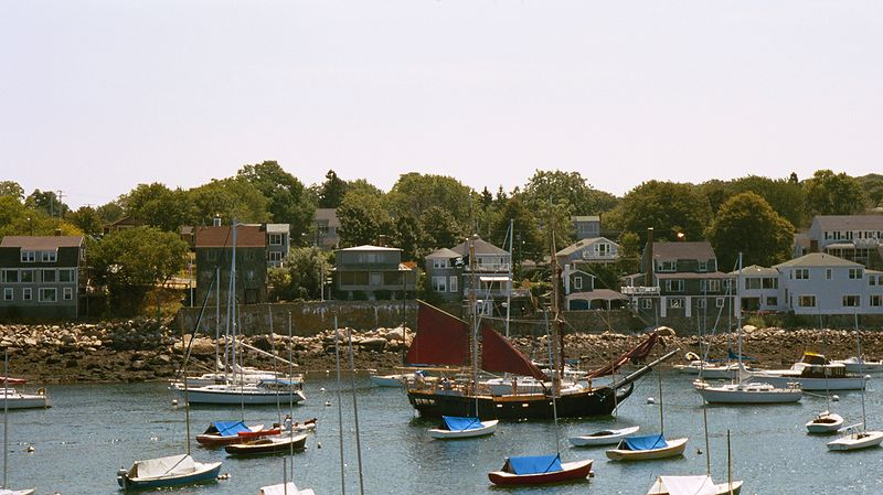 Pirate ship in Rockport harbor.