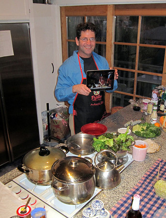 Thai Cooking at Richard's - Dec 2011
