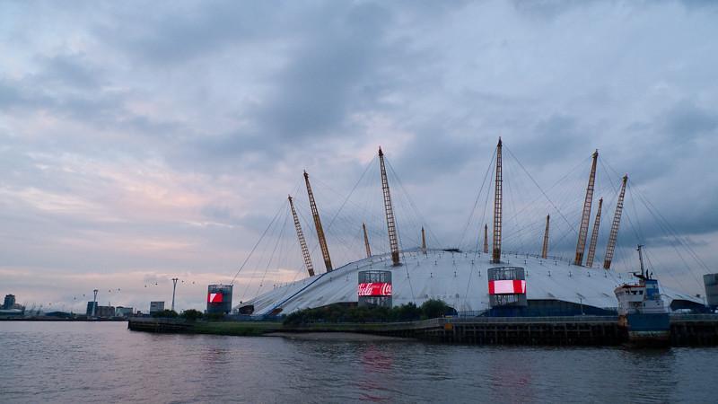 O2 Arena, Charity Thames Cruise, in memory & celebration of Sharon Drake-Davis