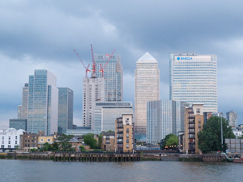 Canary Wharf, Charity Thames Cruise, in memory & celebration of Sharon Drake-Davis