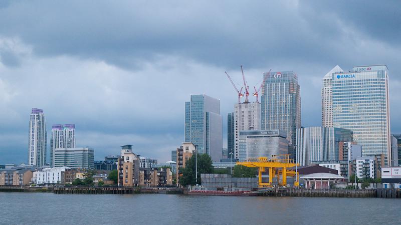 Canary Wharf, Charity Thames Cruise, in memory & celebration of Sharon Drake-Davis