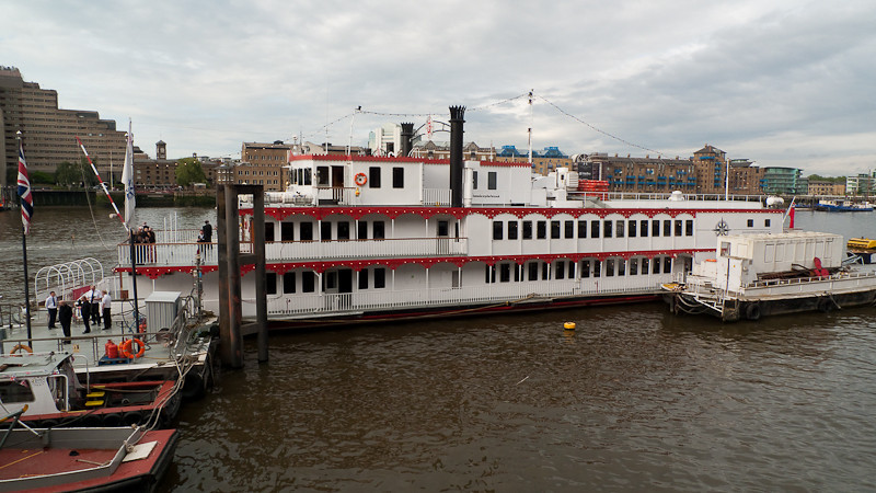 Dixie Queen, Charity Thames Cruise, in memory & celebration of Sharon Drake-Davis
