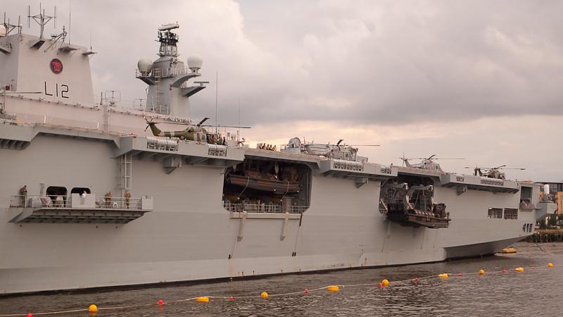 HMS Ocean, Charity Thames Cruise, in memory & celebration of Sharon Drake-Davis