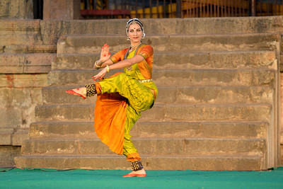 Valérie Kanti Fernando, student of Sri Rajarajeswari Bharatha Natya Kala Mandir and disciple of Guru Harikrishna Kalyanasundaram, performed at the Brahan Natyanjali 2015, Big Temple, Thanjavur, Tamil Nadu, 19th February, 2015. http://brahannatyanjali.in/