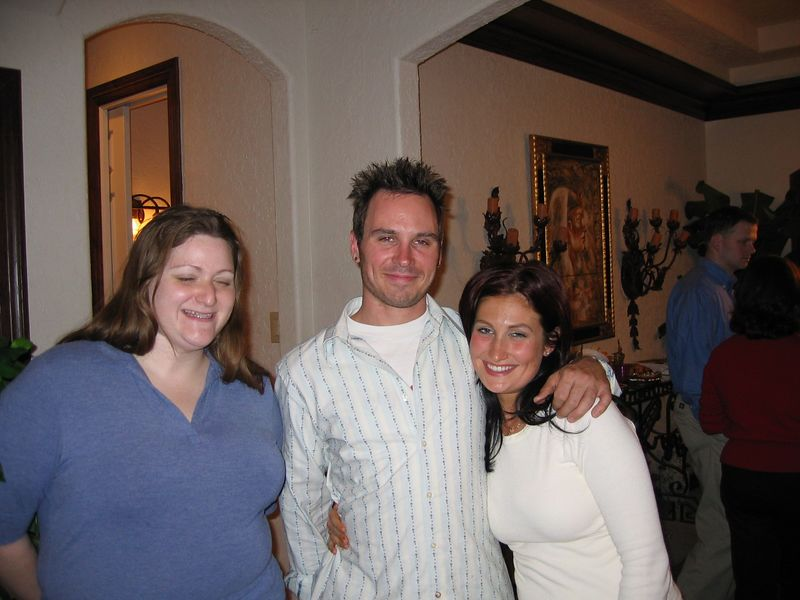 Lanna G, Matt, and Shelly.  Lana says you owe her a picture now.