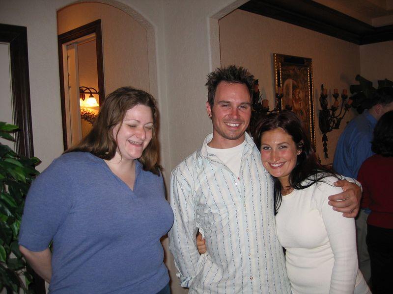 Lana G and her boyfriend Matt, and Shelly. .