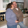 The lovebirds in the kitchen