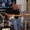 Matt Thompson and his Stratocaster