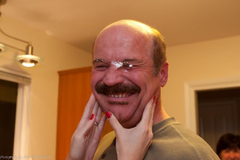 Paul getting creamed!