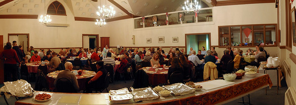 Thanksgiving Dinner Panorama