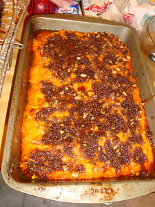 Candied sweet potato mash
