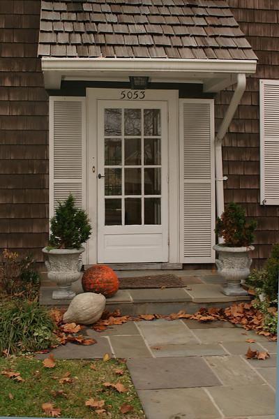 Front Door of Sales Home