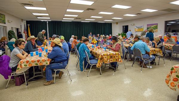 2017 Women's Club Thanksgiving community dinner