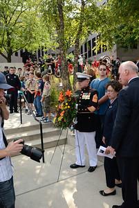 9/11 Tribute Ceremony - 10 Year Anniversary - Naperville, Illinois - 2011