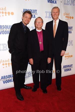 Daniel Karslake,  Rev. Gene Robinson, Michael Huffington  all photos by Rob Rich © 2008 robwayne1@aol.com 516-676-3939