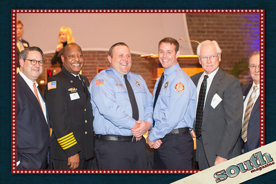 Lowell Kronowitz, Chief Middleton, Ben Spence, Josh Spivey, Doug Weathers and Tak Argentines