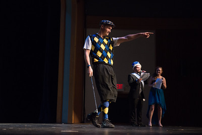 The 2016 Mr. Westfield Competition to benefit the Make-A-Wish Foundation, on Dever Stage at Westfield State University